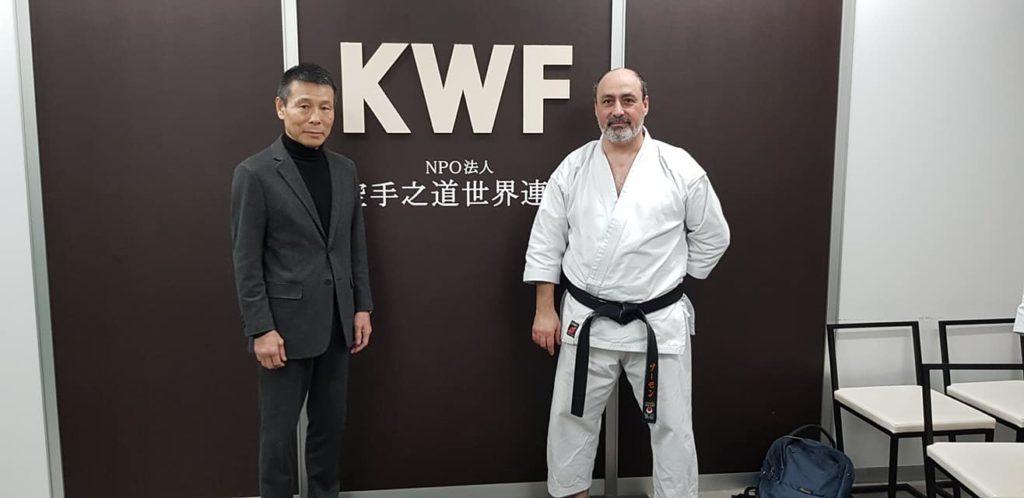 Yahara Sensei en Samo Sensei